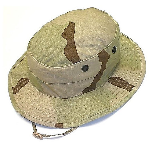 R&B Military 3-Color Desert Camo Boonie Hat