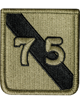 US Army OCP 75th Infantry Division Patch