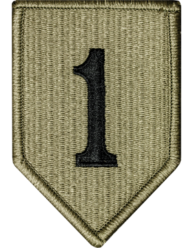 US Army OCP 1st Infantry Division Patch