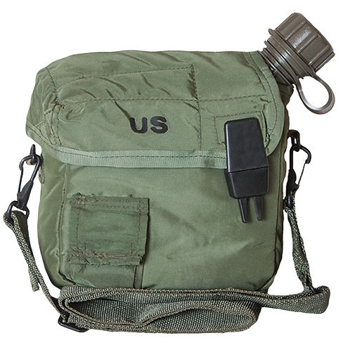 U.S. GI 2 Quart NBC Canteen with Cover