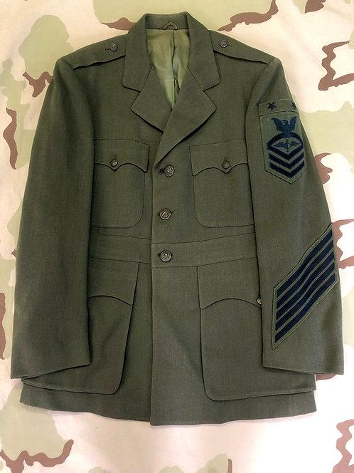 US Navy Uniform Chief Petty Officer Dress Green Jacket