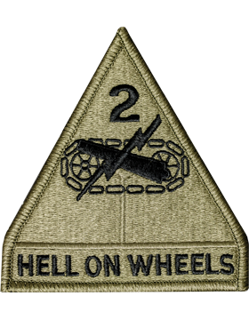 US Army OCP 2nd Armor Division Patch