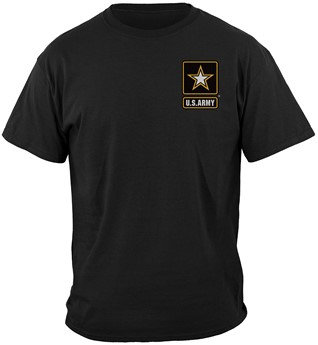 US Army Large Eagle Military T-shirt