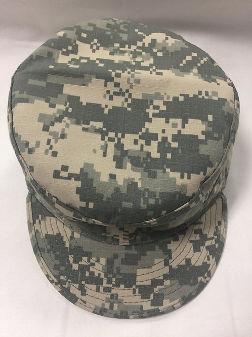 US ARMY ACU DIGITAL HAT PATROL CAP UNIVERSAL CAMO PATTERN COVER