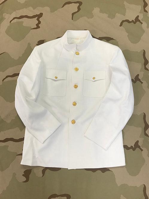 US Navy Dress White Uniform Jacket