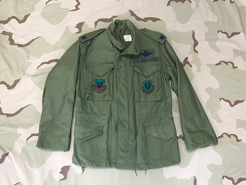 US Air Force OG-107 M-65 Field Jacket w./Patches