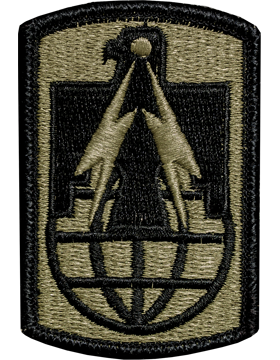 US Army OCP 11th Signal Brigade Patch