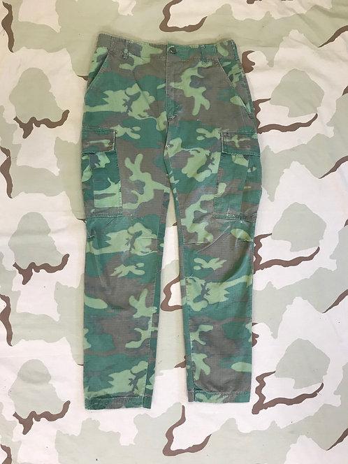 Vietnam ERDL Camo Jungle Fatigue Trousers