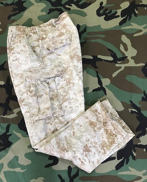 USMC MCCUU Desert Marpat Combat Trousers - Average Used