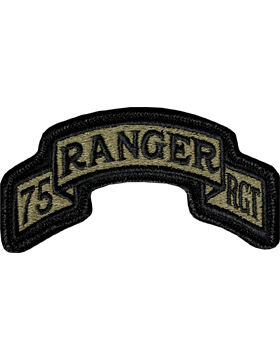 US Army OCP 75th Ranger Regiment HQ Patch