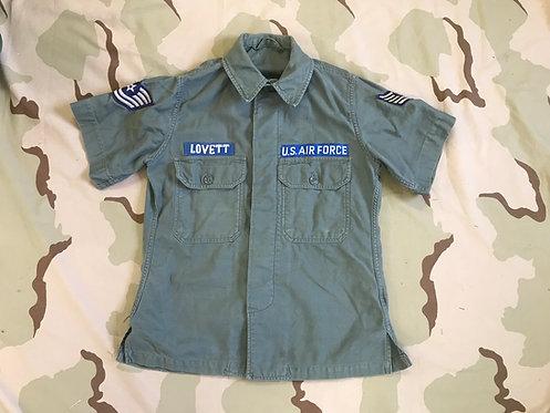 USAF Vietnam Sage Cotton Fatigue Shirt