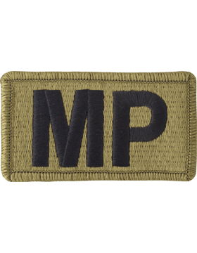US Army OCP MP Military Police Patch
