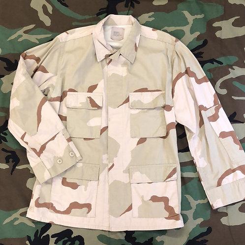 USGI 3 Color Desert Coat Camo BDU Shirt