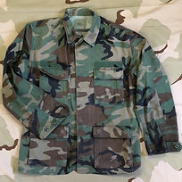 USGI Military Woodland Camo BDU Shirt