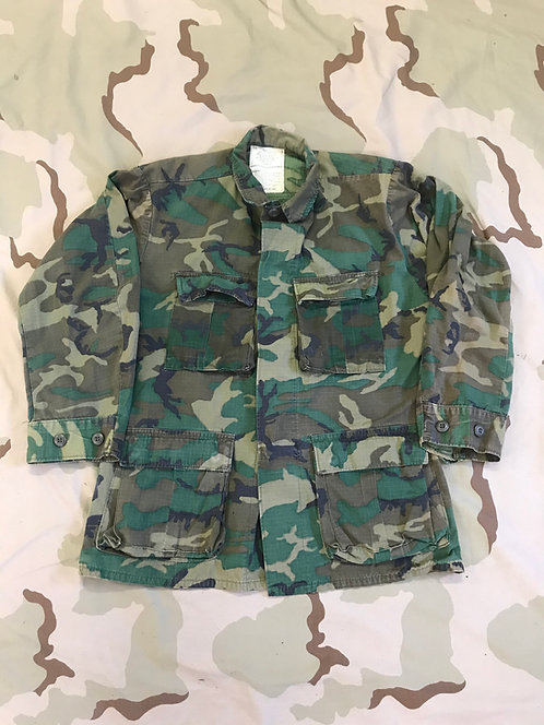 Vintage ERDL Camo Hot Weather BDU Shirt