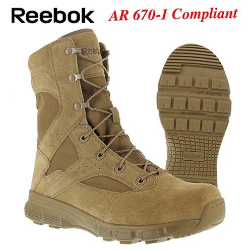 "Reebok Dauntless 8"" Military Tactical Coyote Boot RB8822"