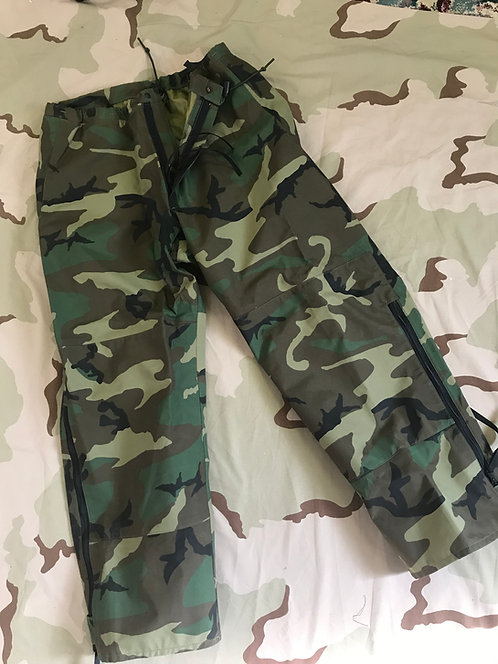 US GI Gore-Tex Trousers Cold Weather Camouflage