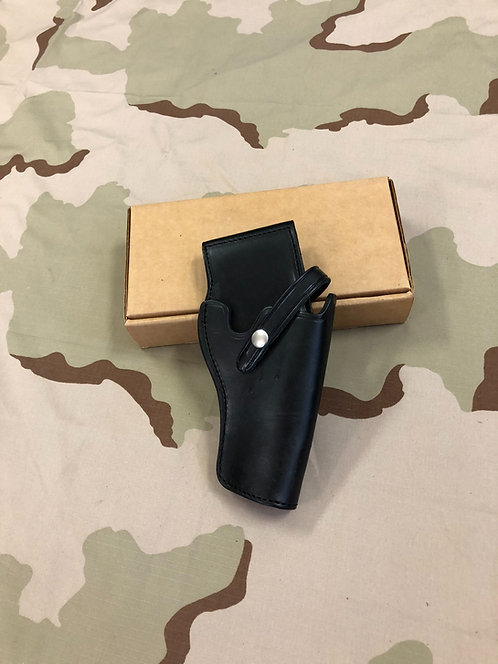 US Military .38 Caliber Revolver Leather Holster