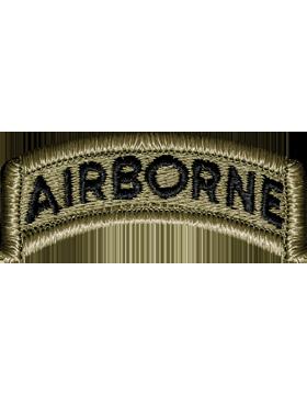 US Army OCP Airborne Tab Patch