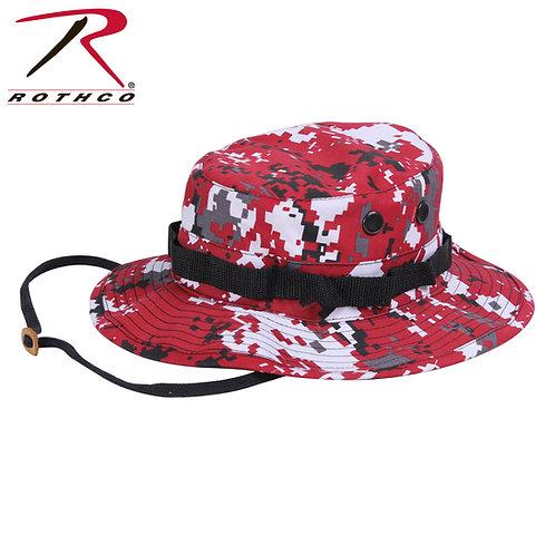 Rothco Red Digital Camo Boonie Cap