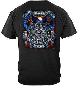"""US Army """"True Heroes"""" Military T-Shirt"""