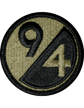 US Army OCP 94th Infantry Division Patch