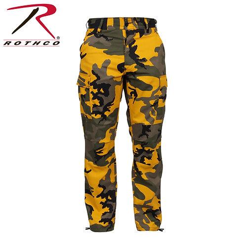 Rothco Yellow Camo BDU Pants