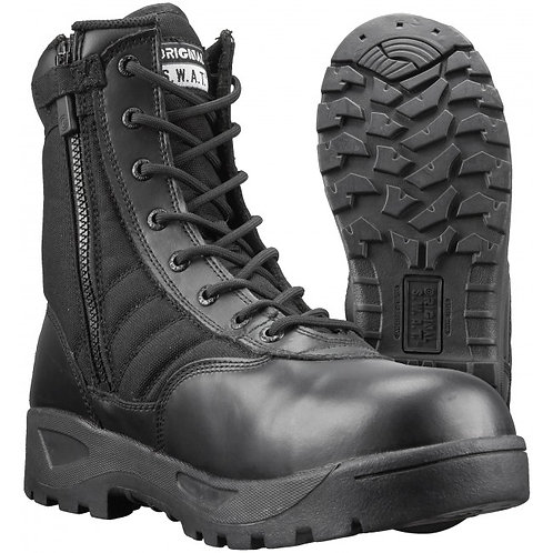 "Original SWAT 9"" Side Zip Boots w/ Safety Toe 1160"