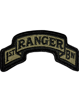 US Army OCP 75th Ranger 1st Battalion Patch