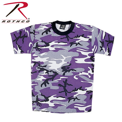 Rothco Kid's Ultra Violet Purple Camo T-Shirt