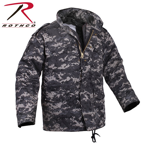 Rothco M-65 Field Jacket with Liner Subdued Urban Digital Camo