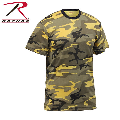 Rothco Stinger Yellow Camo T-Shirt