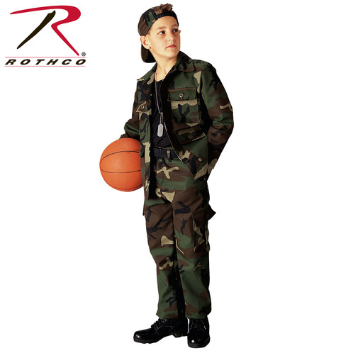 43decffdeee621 Rothco's Kids BDU Pants BDU Pants Are Made With A Comfortable, Durable  Poly/Cotton. Brand ...