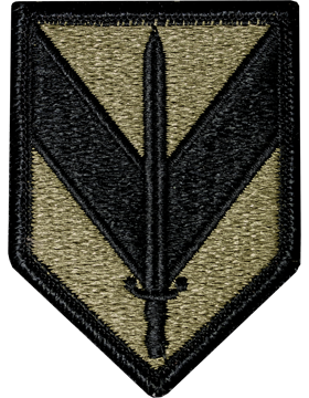 US Army OCP 1st Sustainment Brigade Patch