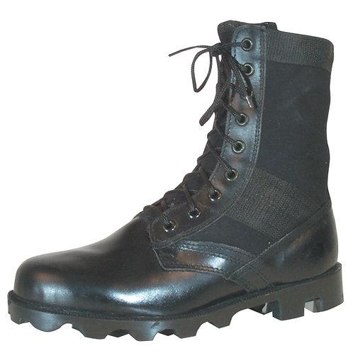 Vietnam Style Black Jungle Boots