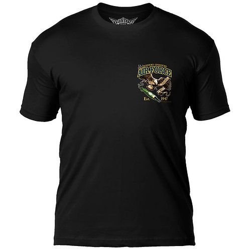 US Air Force 'Fighting Eagle' 7.62 Design T-Shirt