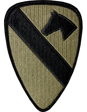 US Army OCP 1st Cavalry Division Patch