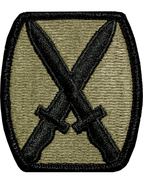 US Army OCP 10th Mountain Division Patch