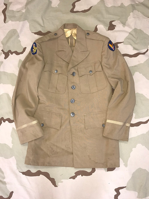 US Army Air Corps Officer Khaki Dress Jacket