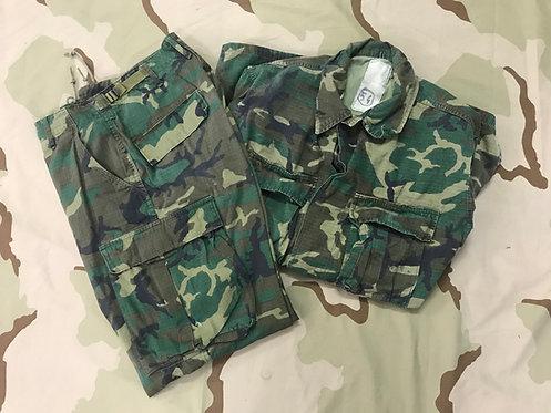 ERDL Camo BDU Shirt & Trousers Set