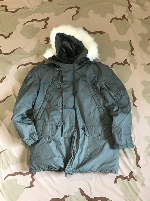 US Surplus N-3B Parka Extreme Cold Weather Jacket