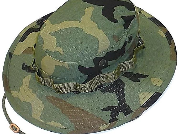 Woodland Camo R&B Boonie Hat