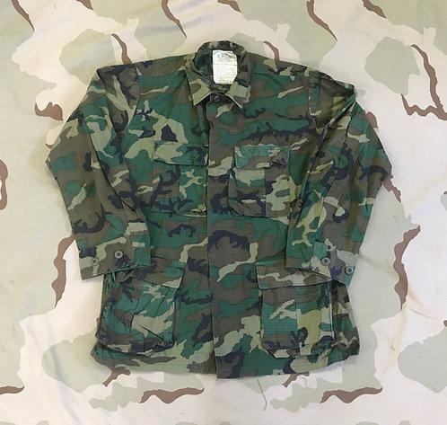 Vintage ERDL Camo Coat Hot Weather BDU Shirt