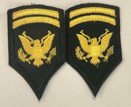 US Army Late 1950's Specialist 1st Class Ranks - Pair