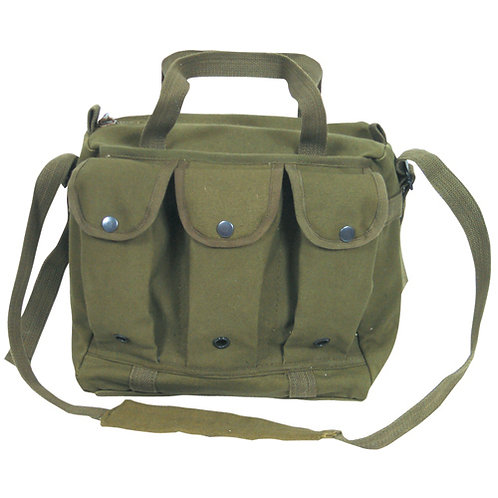 CANVAS SHOOTER'S BAG