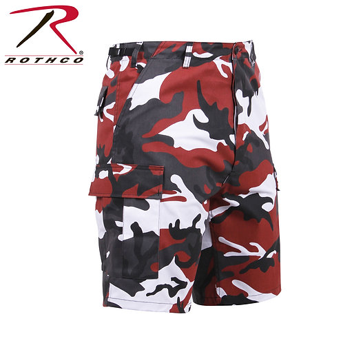 Rothco Red Camo BDU Shorts