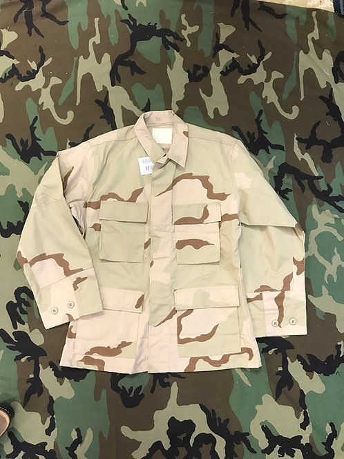 USGI 3 Color Desert Coat Camo BDU Shirt