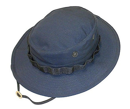 R&B Military Navy Blue Boonie Hat