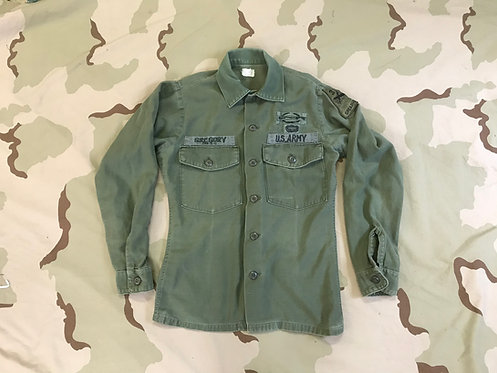 USGI OG-107 Vintage Fatigue Utility Shirt