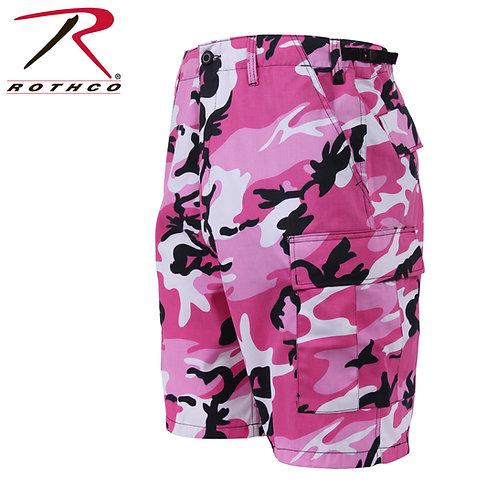 Rothco Pink Camo BDU Shorts
